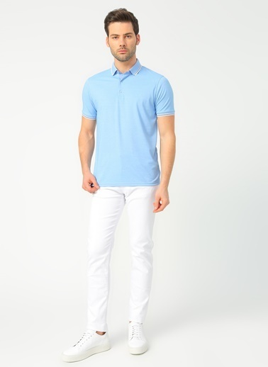 Fabrika Comfort Fabrika Comfort Mavi Polo T-Shirt Mavi